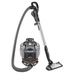 AEG AUFFLEXA  SilentPerformer Cyclonic All Floor Bagless Cylinder Vacuum Cleaner