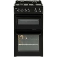 Beko BDG582K/OG 50cm Double Cavity Gas Cooker