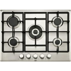 Beko HIMW75225SX/MG 4 Gas Burner Hob