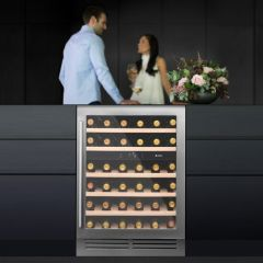 Caple WI6133/OG 60Cm 2 Zone Wine Cooler