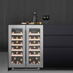 Caple WI6232/OG Dual Zone Wine Cooler