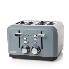 Haden 183453 Perth 4 Slice Slate Grey Toaster