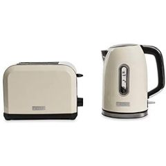 Haden 183484 Chiswick Kettle + Toaster Pack