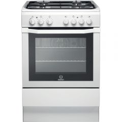 Indesit I6GG1WUK/R 60Cm Single Cavity Gas Cooker