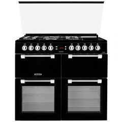 LEISURE CC100F521K/OG 100Cm Dual Fuel Range Cooker Black