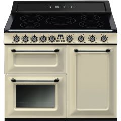 100Cm Induction Range Cooker Cream