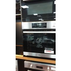 AEG BES355010M Built In Electric Single Oven With Added Steam Function