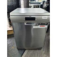 AEG FFB53940ZM Standard Dishwasher - Stainless Steel - A+++ Rated