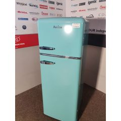 Amica FDR2213DB Top Mount Retro Style Fridge Freezer