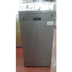 Beko DFS04010S Slimline Dishwasher - Silver - A+ Rated