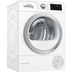 Bosch WTWH7660GB/MG Condenser Tumble Dryer With Heat Pump, 9Kg Load, A++ Energy Rating