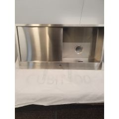 Caple CU100/R/OG Stainless Steel Sink With Right-Hand Drainer