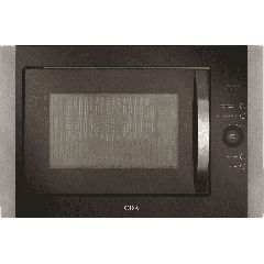 Cda VM451SS Built-in microwave oven, grill and convection oven, LED timer and clock , Touch control