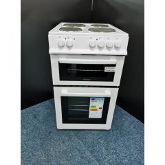 Electra BEF50TEW/OG 50Cm Electric Cooker With Solid Plate