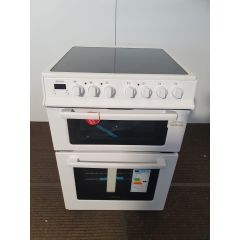 Electra TCR60W 60Cm Twin Cavity Electric Cooker
