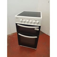 Haden HECT50W/OG 50Cm Twin Cavity Ceramic Cooker