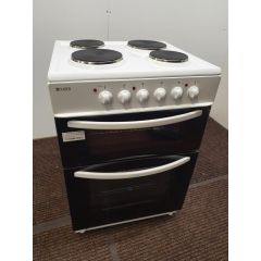 Haden HEST60W/OG 60Cm Solid Plate Twin Cavity Cooker