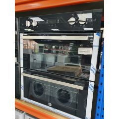Hoover Candy HO7DC3UB308BI Built Under Double Oven Electric