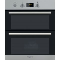 Hotpoint DU2540IX Built Under Electric Double Oven With Feet