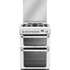 Hotpoint HUD61PS/R 60Cm Dual Fuel Cooker