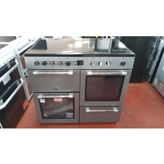 LEISURE CK100C210S 100Cm Electric Range Cooker With Ceramic Hob