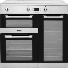 LEISURE CS90D530X 90Cm Electric Range Cooker With Induction Hob