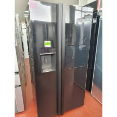 LEISURE PAS241MB American Fridge Freezer - Black - A++ Rated