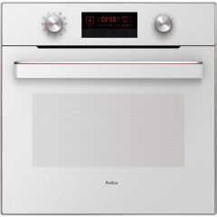 Amica IN622W Multi Function Electric Single Oven 65 L
