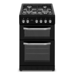 New World NWMID53GB 50Cm Twin Cavity Gas Cooker