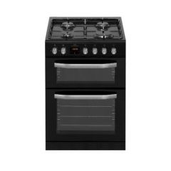New World NWMID63GB 60Cm Twin Cavity Gas Cooker