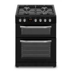 New World NWTOP63DFB 60Cm Dual Fuel Cooker