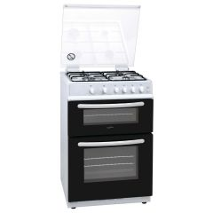 Statesman GDL60W 60Cm Double Gas Lidded Cooker