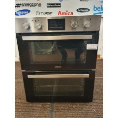 Zanussi ZOF35661XK/MG Built Under Double Oven